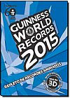 Capa do livro Guinness World Records 2015: Repleto de Recordes Animados, Grupo Ediouro