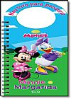 Capa do livro Minnie e Margarida, Walt Disney