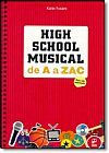 Capa do livro High School Musical de a A Zac, Karin Fusaro FUSARO