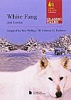 Capa do livro WHITE FANG - CONTANDO CUENTOS, Jack London