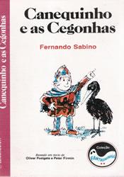 Capa do livro Canequinho e as Cegonhas, Fernando Sabino