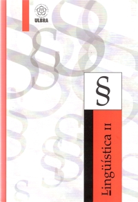 Capa do livro Linguística II, ULBRA