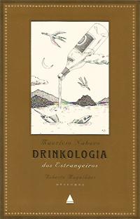 Capa do livro Drinkologia dos Estrangeiros, Maurício Nabuco