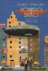 Capa do livro Voando Baixo, Pedro Cavalcanti