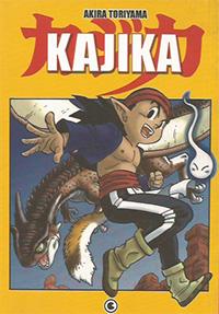Capa do livro KAJIKA, Akira Toriyama