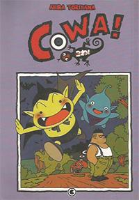 Capa do livro Cowa!, Akira Toriyama