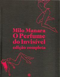 Capa do livro O Perfume do Invisível, Milo Manara