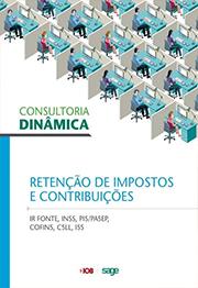 Capa do livro Consultoria Dinâmica - Retenção de Impostos e Contribuições, Equipe Técnica