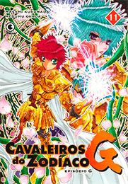 Capa do livro Cavaleiros do Zodíaco - Episódio G – Volume 11, Masami Kurumada, Megumu Okada