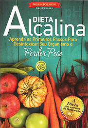 Capa do livro Dieta Alcalina - Guia da Boa Saúde, Dario Chaves