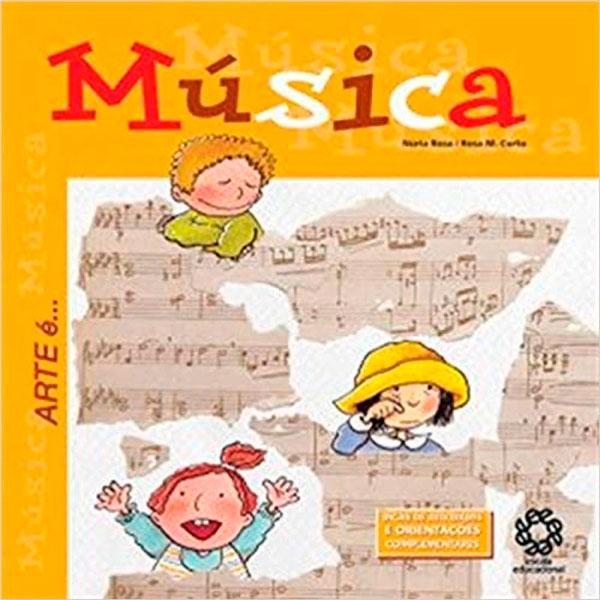 Capa do livro Arte é... Música, Núria Roca, Rosa M. Curto