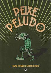 Capa do livro Peixe peludo, Rafael Moralez, Rodrigo Bueno
