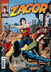 Capa do livro Zagor nº 94 - O Submundo de Nova Orleans, Bonelli Comics