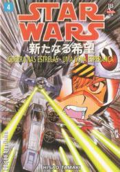 Capa do livro Col. Star Wars - mangás - Uma Nova Esperança - vol. 04, Hisao Tamaki