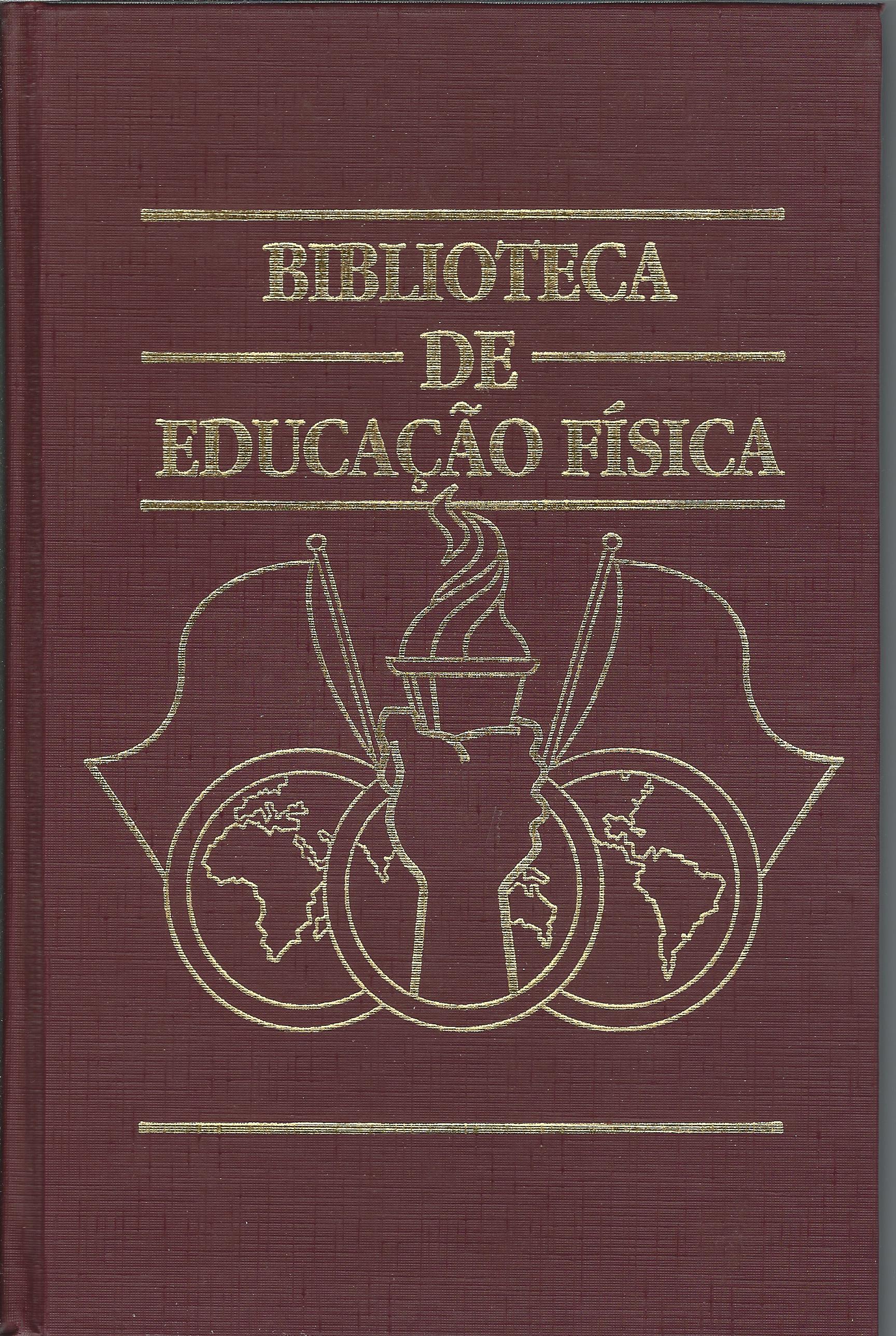 Capa do livro Biblioteca de Educação Física, Manoel José Gomes Tubino