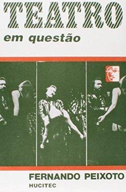 Capa do livro Teatro em Questão, Fernando Peixoto