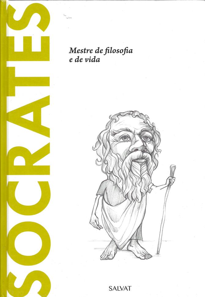 Capa do livro Sócrates - Mestre da filosofia e de vida, Beatrice Collina