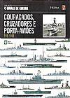 Capa do livro Col. Armas de Guerra - Vol. 07 - Couraçados, Cruzadores e Porta-Aviões, Abril