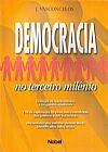 Capa do livro Democracia no Terceiro Milênio, J. Vasconcelos