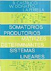 Capa do livro Somatórios, Produtórios, Matrizes, Determinantes e Sistemas Lineares, Vários Autores