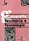 Capa do livro Geografia, Território e Tecnologia, Vários Autores