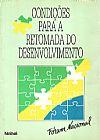 Capa do livro Condições Para a Retomada do Desenvolvimento, Vários Autores