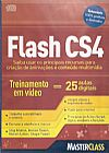 Capa do livro Flash CS4 (DVD), Master Class