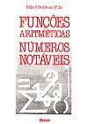 Capa do livro Funções Aritméticas Números Notáveis, Edgar de Alencar Filho