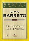 Capa do livro Lima Barreto - Col. Nossos Clássicos, Francisco de Assis Barbosa