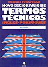 Capa do livro Novo Dicionário de Termos Técnicos Inglês-Português 24ª Ed. - Vol 1 e 2 (2 volumes), Eugênio Fürstenau