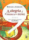 Capa do livro A Alegria é a Prova dos Nove, Oswald de Andrade
