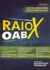 Capa do livro Raio X OAB, Vários Autores