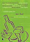 Capa do livro Contos para Ler no Bar, Vários Autores