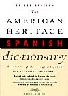 Capa do livro The American Heritage Spanish Dictionary - Spanish-English / English-Spanish,