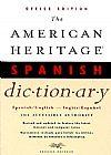 Capa do livro The American Heritage Spanish Dictionary - Spanish-English / English-Spanish,