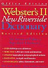 Capa do livro Webster´s II New Riverside Dictionary - Revised Edition,