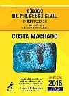 Capa do livro Código de Processo Civil 14ª Ed. 2015 - Interpretado: artigo por artigo, parágrafo por parágrafo, Costa Machado