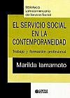 Capa do livro El Servicio Social en la Contemporaneidad (em espanhol), Marilda Villela Iamamoto