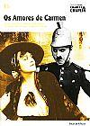 Capa do livro Os Amores de Carmen - Col. Folha Charles Chaplin Vol. 15 (capa dura / com DVD), Cássio Starling Carlos
