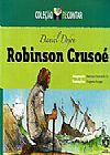 Capa do livro Robinson Crusoé - Col. Recontar, Daniel Defoe