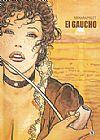 Capa do livro El Gaucho, Milo Manara, Hugo Pratt