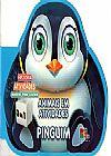 Capa do livro Animais em Atividades Pinguim, Nikhila Kilambi