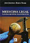 Capa do livro Medicina Legal - Fundamentos Filosóficos, José Jozefran Berto Freire