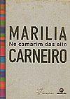 Capa do livro No camarim das oito, Marilia Carneiro