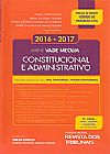 Capa do livro Mini Vade Mecum Constitucional e Administrativo - 5º Edição, Vários autores