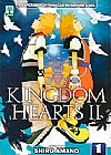 Capa do livro Kingdom Hearts II - Vol. 1, Shiro Amano
