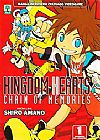 Capa do livro Kingdom Hearts - Chain of Memories - Vol. 1, Shiro Amano