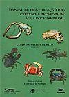 Capa do livro Manual de Identificação dos Crustácea Decapoda de Água doce do Brasil, Vários Autores