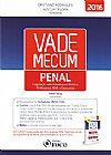 Capa do livro Vade Mecum Penal: Legislação Selecionada Para Prática Profissional, OAB E Concursos, Cristiano Rodrigues, Nestor Távora, Paula Tseng