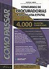 Capa do livro Como Passar em Concursos de Procuradorias e Advocacia Estatal, Wander Garcia